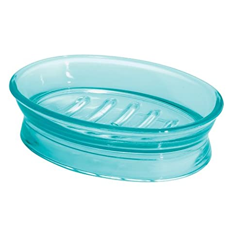 InterDesign Franklin Bar Soap Dish for Bathroom Vanities, Kitchen Sink - Aruba