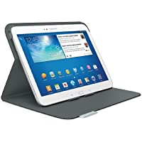 Logitech Folio Case - Funda para Samsung Galaxy Tab 3-10.1 (soporte de sobremesa), negro