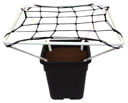 scrog Line Pro 1,2Pflanze Support Net Netz 60cm x 60cm wachsen Zelt Hydrokultur (A-line Netz)