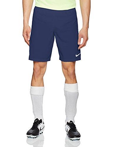 Nike Herren Shorts Laser III Woven, Midnight Navy/White, XL, 725901-410 (Shorts Kordelzug Fußball)