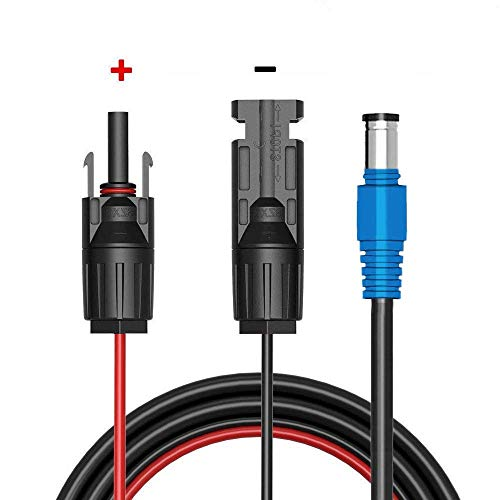 MC4 Solar zu 8mm Adapterkabel 48 Zoll Perfektes Arbeiten Für Goal Zero Yeti Tragbarer Stromgenerator Kraftwerk Produkte (Männlich positiv und weiblich negativ)