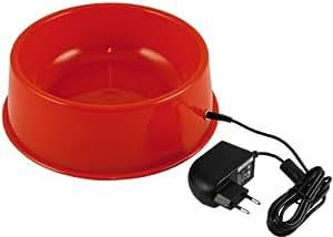 Thermo - 470010900 - Gamelle chauffante - Plastique - Rouge - 12 V / 15 W - Diamètre 220 mm / Capacité 1,5 l