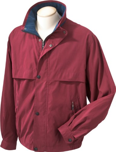 Chestnut Hill Unisexe Lodge Veste en microfibre ch850 (2 x L/Noir/Surplus) Rouge - MERLOT/NEW NAVY
