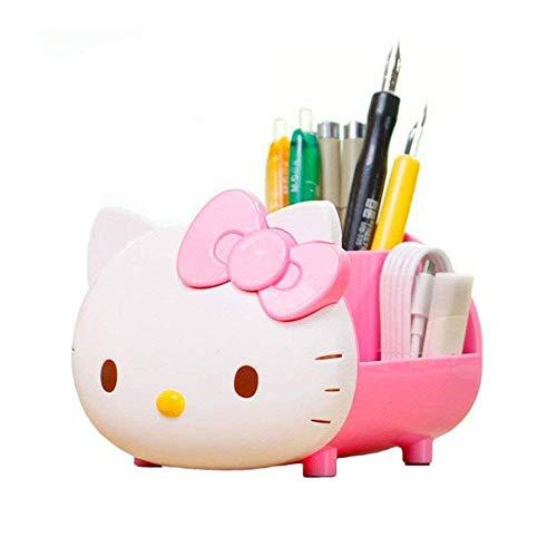 yournelo Pretty Multifunktional Hello Kitty Stifthalter/Schreibtisch Organizer Zubehör