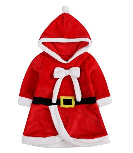 Le SSara Weihnachts-Baby-Cosplay-Kleid Neugeborene Kostüm-Outfit Hooded Rock (80, - 12 18 Monat Fancy Dress Kostüm