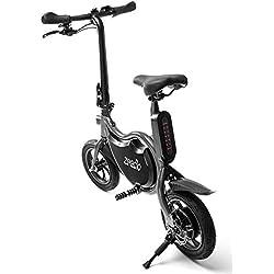 "ZEECLO E-Bike Eléctrica Plegable Box 12"""