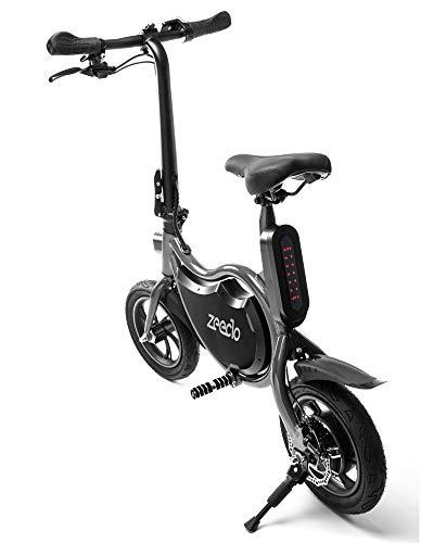 ZEECLO E-Bike Eléctrica Plegable Box 12