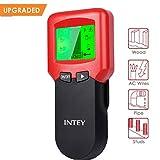 INTEY Ortungsgerät 3 in 1 Multifunktions Wand Scanner Detektor LCD Display für Metall, Holz Stud, AC Wires, Ortungsgerätfür Holz Metall Rohre Stromleitung AC Spannungsführenden Leitungen (Rot-3 in 1)
