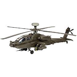Revell - Maqueta AH-64D/WAH-64D Longbow Apache, escala 1:48 (04420)