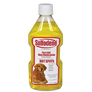 Sulfodene First Aid Skin Medication for Dogs, 4oz.