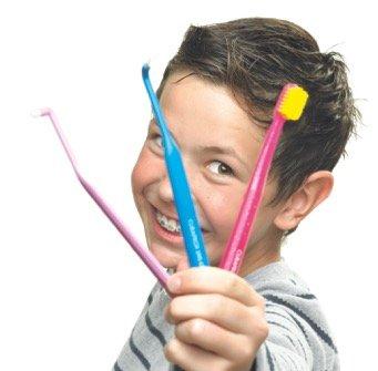 Ortho Starter Kit - Zahnpflege Set für Spangenträger