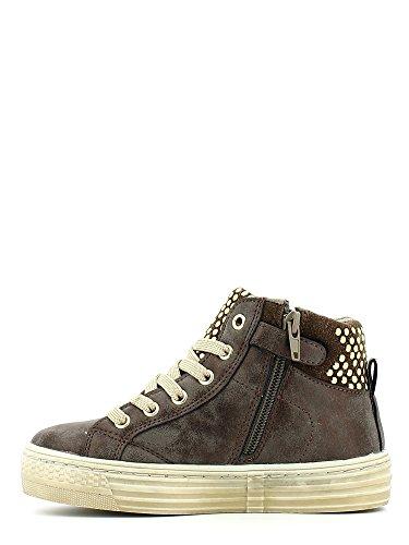 Grunland Junior , Mädchen Sneaker Marrone