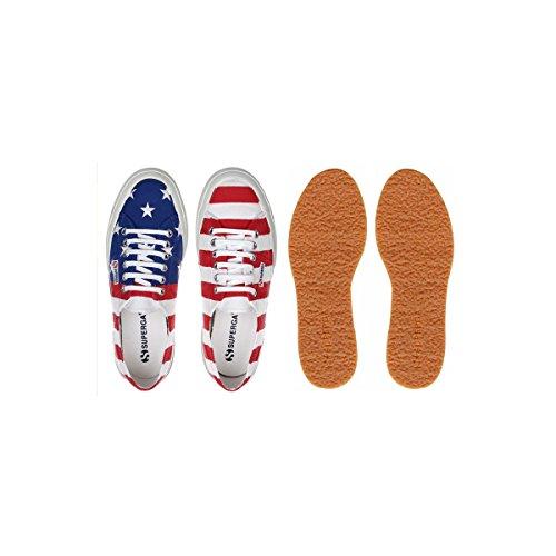 Superga Usa Flag Baskets Basses Neuf Chaussures . Usa