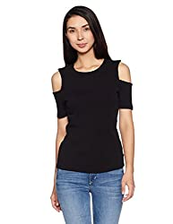 United Colors of Benetton Womens Body Blouse Shirt (17A3RB1E9512I_Black_M)