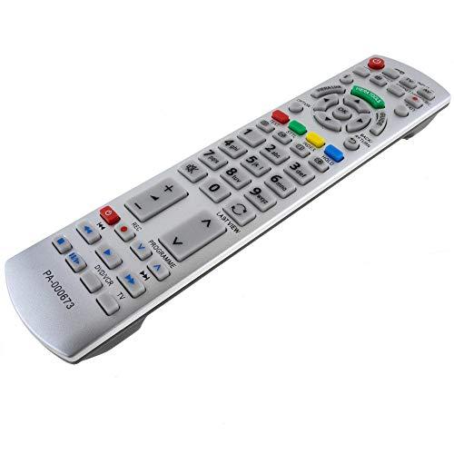 Ersatz Fernbedienung für Panasonic N2QAYB000673 Fernseher TV Remote Control / D1170 / Neu (Panasonic Tv Zubehör)