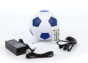 MI-haut-parleurs 2.1–ballon de football lanchiya pour iphone 3 et 4, peut être utilisé comme enceinte de pC!