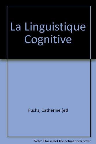 La linguistique cognitive