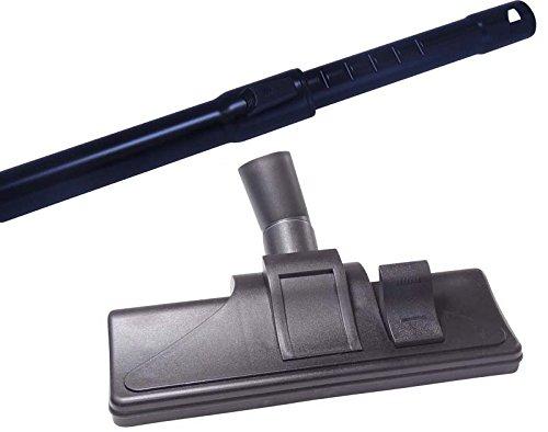 Aluminium Staubsauger 35mm Teleskoprohr für Siemens BIG BAG 3L VS 01 E 000 im Set mit Staubsaugerdüse & 5 Duftstäbchen