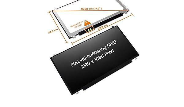 Laptiptop Lenovo Ideapad 110-17IKB 80VK LED Display Screen 17,3 matt 1600x900 WXGA+ HD Panel Bildschirm