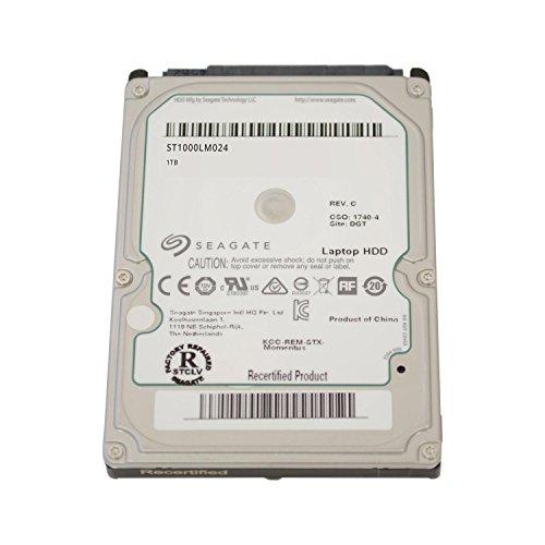 Seagate SpinPoint M8/M9T, SATA 2/3 interne Festplatte 2,5 Zoll, 5400RPM, 9,5mm - recertified, Kapazität:1.000GB (1TB), Baureihe:Spinpoint M8