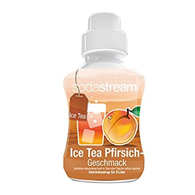 SodaStream Sirup Ice-Tea Pfirsich, 2er Pack (2 x 375 ml)