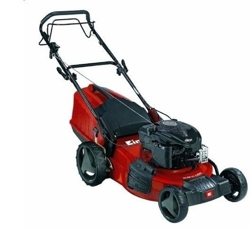Einhell RG-PM 51 S Self Propelled Petrol Lawn Mower with Briggs and Stratton 675 Series Engine and 51 cm Cutting Width – Multi-Colour