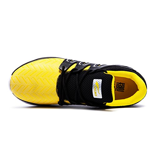 Onemix, Scarpe da Corsa da Ginnastica Running Uomo 2017 Giallo