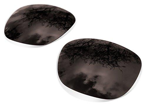Sunglasses Restorer Ersatzgläser für Oakley Holbrook (Polarisierte Black Iridium Gläsern)