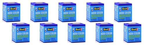 Revell Aqua Color Farben - 10 Töpfchen a 18ml - Farbauswahl per Mail