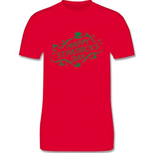 Festival - Happy St. Patrick's Day - Herren Premium T-Shirt Rot
