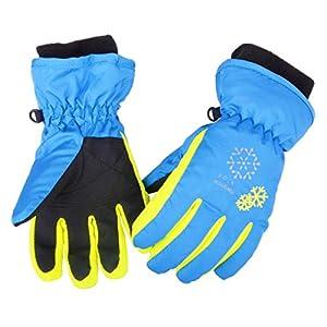 Azarxis Kinder Skihandschuhe Winter Ski Handschuhe Winterhandschuhe für Skifahren Snowboarden