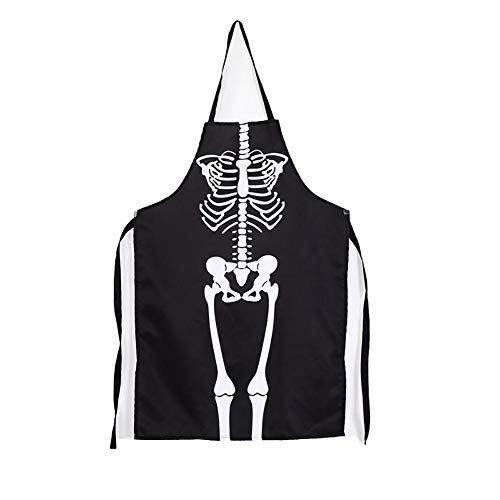 Fablcrew. Halloween Dance Party Horreur Dress Up Schürze Halloween Skelett Kostüm Schürze für Halloween (Kostüm Horreur Halloween)