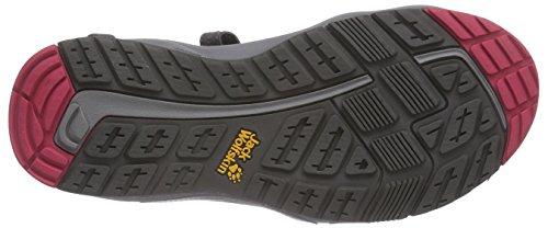Jack Wolfskin Damen Lakewood Cruise Sandal W Sport-& Outdoor Grau (dark steel 6032)