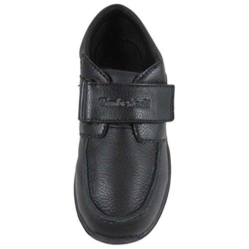 Timberland Park Stoc Toe Ox T, Chaussures de ville garçon Noir