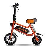 BYYLH Bicicleta Electrica Paseo Fat E-Bike 36V Unisex Triciclo Portátil, 30Km