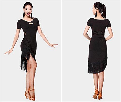Les femmes coulent robe de danse Sula Ding / Plus de couleurs Black