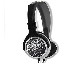 B-Move Eighty SpiderWeb - Auriculares de diadema cerrados con micrófono
