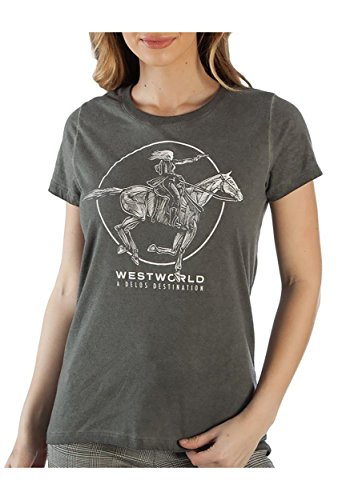 Westworld Delos Hilo Boyfriend Junior's tee Large