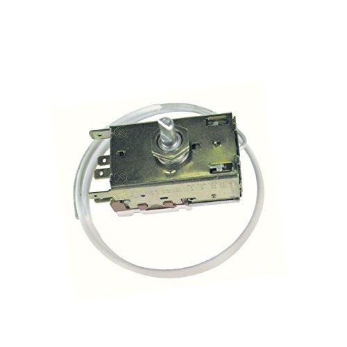 Thermostat Kühlthermostat 0- und 3-Sterne-Kühlschrank Original Ranco K59-L2622 600mm Kapillarrohr 3x4,8mm AMP kompatibel mit Liebherr 6151097 Miele 1677710 Alno asu aku ahe ake ame aef