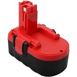 Exmate 18V 3,5Ah Ni-MH Batterie pour Bosch Batterie Bosch PSB 18 VE-2 GSB 18 VE-2 GSR 18 VE-2 PSR 18 VE-2 BAT025 BAT160 BAT180 2607335278 2607335535 2607335536 2607335680