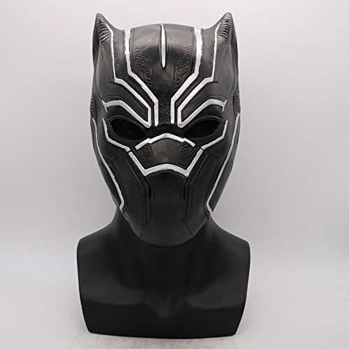 VAWAA Film Black Panther Kralle Handschuhe Avengers Infinity War Maske Kostüm Halloween Party Cosplay Requisiten Für Erwachsene Männer Frauen (Black Halloween-kostüm Party Panther)