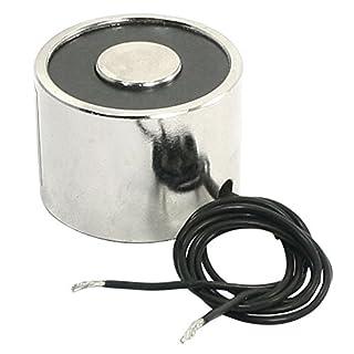 Elektromagnet - TOOGOO(R)10 kg Solenoid Elektromagnet 30mm Hubmagnet 24V DC