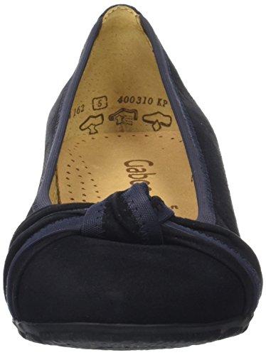 Gabor Damen Fashion Geschlossene Ballerinas Blau (pazifik 16)