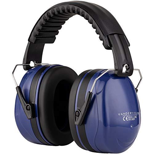Casques Anti Bruit Ear Protection Tir Protection Auditve - Réduction du Bruit Compact Pliable et Confortable Head Band Coupes...