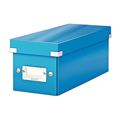 gsbox, Blau, Mit Deckel, Click & Store, 60410036 (Cd-hüllen Blau)