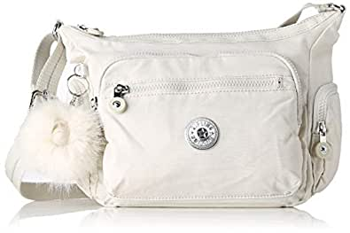 b39ca51457 Kipling Gabbie S - Borse a tracolla Donna, Bianco (Dazz White ...