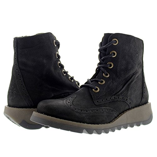 Fly London Womens SARL069FLY Leather Boots Schwarz