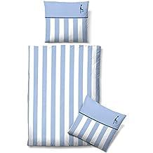 Suchergebnis Auf Amazonde Für Bettwäsche 155x220 Blau Weiß Gestreift