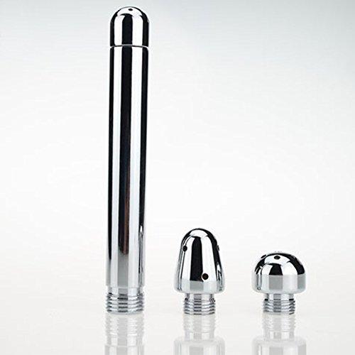 Genmine® Anal & Vaginal Dusche GAY ANALDUSCHE 3 verschiedene Wechselaufsätze Dusche Douche für Einlauf und Vaginal Abspülen,Sex Reinigung Dusche sowohl für Damen und Herren