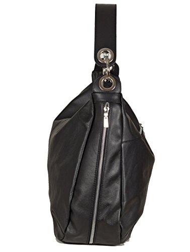 Group de Luxe, Borsa a mano donna (36x32x14 cm) Nero (nero)